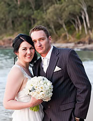 Sally and Andrew's Vintage Wedding Noosa
